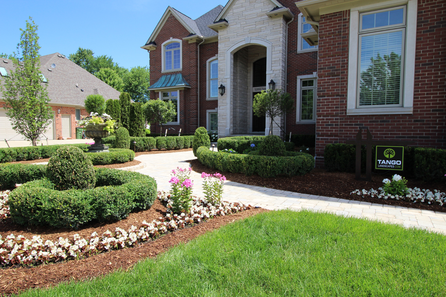 Landscape Planting in Shelby Twp., Michigan